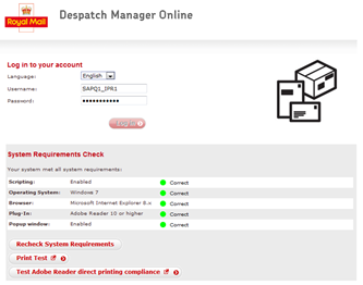 Using the DMO Shipping System Introduction This document will give you a quick start guide to the main elements of Despatch Manager Online, from how to raise a shipment to the admin utilities that