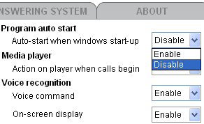 Getting started Settings - General Program auto start If you have enabled this. feature, your computer will launch this software automatically every time. when windows start-up.