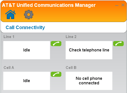Operation Making, answering, and ending calls Make a call To make a call on a landline: 1. Click the (Call Connectivity) panel. 2. 3. Click on the number. input box. Use your.