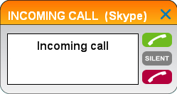 Operation Making, answering, and ending calls Answer a call When there is an incoming call on line 1 or line 2: You can choose one of the following ways to answer the call: Click on the pop-up window.