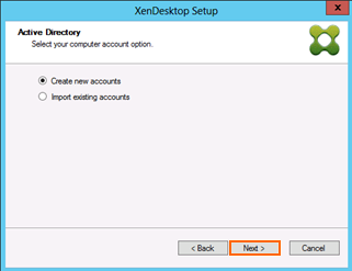 9. Select Use an existing catalog and choose Windows 81 PVS. Then click Next. 10.