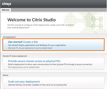 4. Ensure that all Citrix services are started. Then close the Services snap-in.