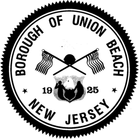 Agenda Borough of Union Beach Thursday, September 18, 2014, 8:00 p.m. Council Meeting Room, Municipal Building 650 Poole Avenue, Union Beach, NJ CALL TO ORDER: Meeting called to order by Mayor Paul J.