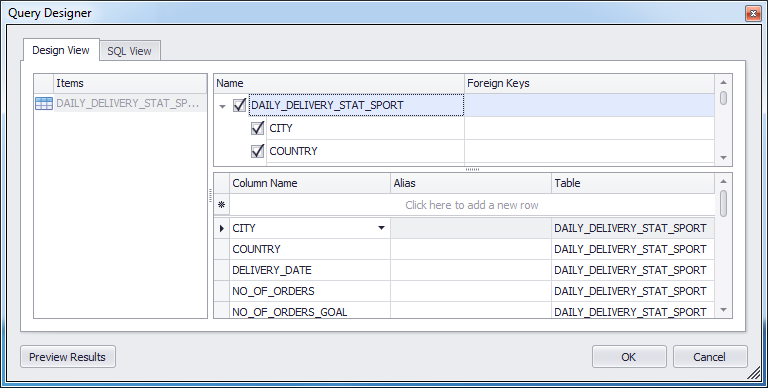 Fig, Step 2 4. Define connection parameters and Select table. 2.4.1. Connect to new data source If you add a new data source then you need to update connection string information in file GADD.