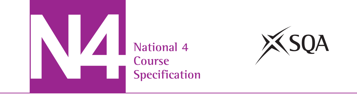 National 4 Automotive Skills: Skills for Work Course Specification Valid from August 2013 This edition: August 2013, version 2.
