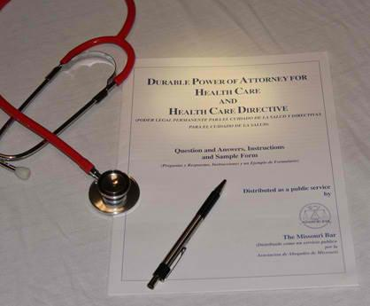 Health Care Power of Attorney. Like a financial power of attorney, a health care power of attorney gives you the ability to name an agent.