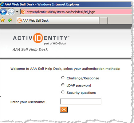 ActivIdentity 4TRESS AAA Web Tokens and SSL VPN Fortinet Secure Access Integration Handbook P 25 6.0 Sample Authentication Using Web Soft Token Authentication 6.