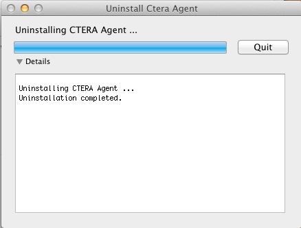 Installing the CTERA Agent 2 CTERA Agent is