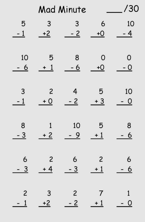 place numbers. In this approach, the instructional method is to ask students to memorize the two hundred facts. The number facts are shown to students with counters, then students are drilled.