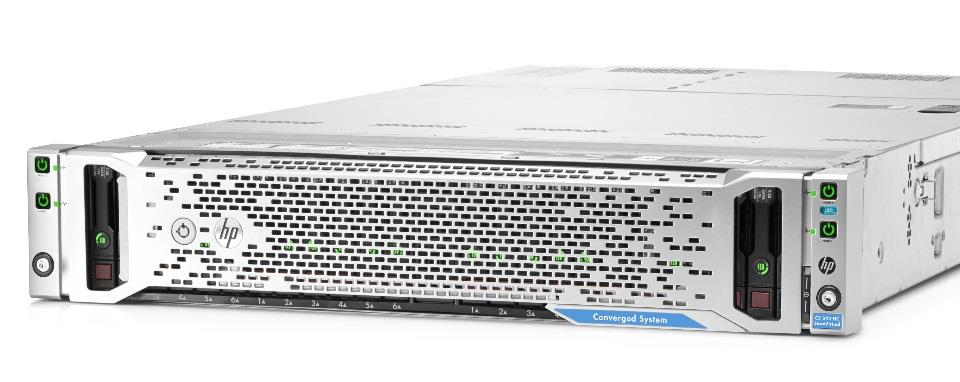 HP ConvergedSystem 200-HC EVO:RAIL HP and VMware are jointly collaborating to extend HP OneView to the EVO:RAIL experience Pre-configured so you can be up in <15 min EVO:RAIL Deployment,