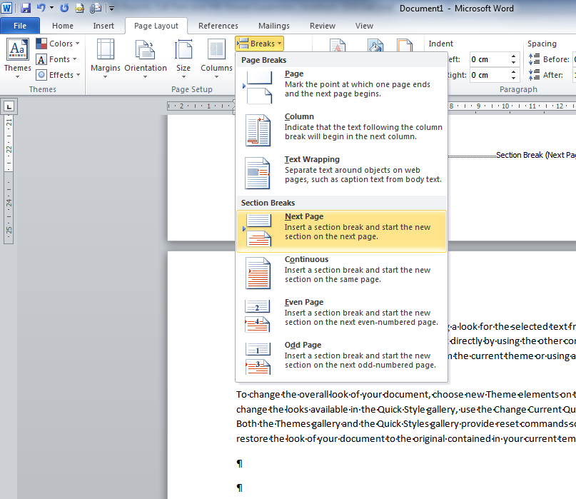 Microsoft Word Tip If you re using