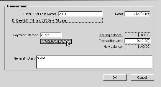 If your Pay Terminal is using a non-emv card reader (which has already been set up under the Pay Terminal Wizard), you are prompted to Swipe the card, with the option of manually entering the card