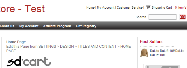 Create a Gift Registry At this point, your job as the merchant is done. You have completed all you need to setup the gift registry feature.