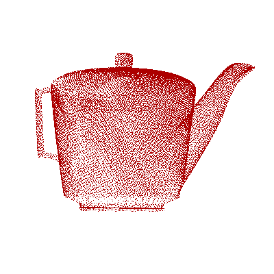 Coverage. Teapot 12 48.92 s 79.05 s 93.90 % Bunny 12 33.81 s 114.07 s 95.51 % Dragon 12 32.45 s 95.60 s 87.26 % (c) Octree at a given iteration. (d) Updated octree after scan. Fig. 8. Illustrations from different stages of the reconstruction of the Bunny object.