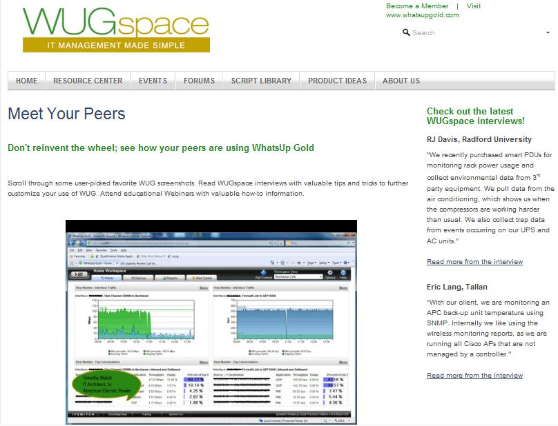 WUGspace: Sales Enablement Tool See how