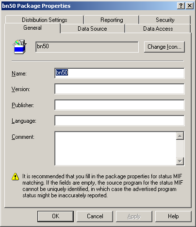 ActivClient for Windows Administration Guide P 110 Deploying Using Systems Management Server This allows SMS to begin the discovery process immediately. Create a Package 1.
