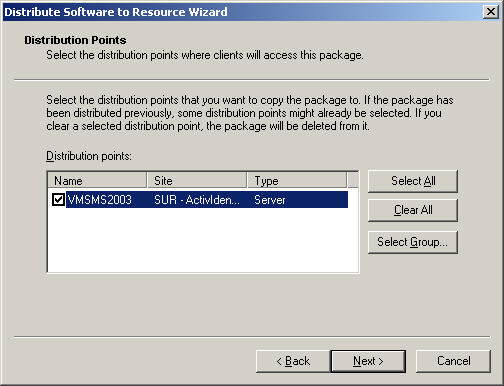 ActivClient for Windows Administration Guide P 119 Deploying Using Systems Management Server 4.