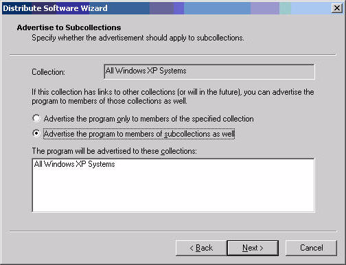 ActivClient for Windows Administration Guide P 121 Deploying Using Systems Management Server 9.