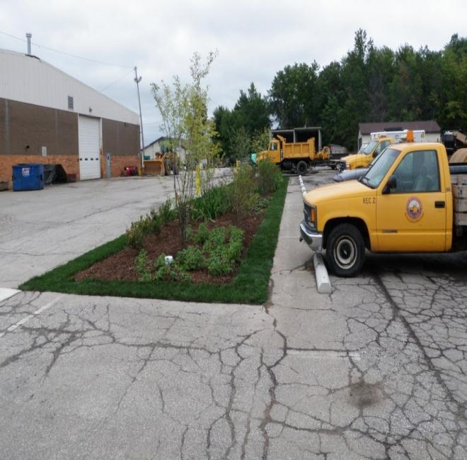 Eastlake SWIF Grant Project BMPs: 2 Bioretention Cells 2,700 ft 2 OEPA Grant Award Amount: $64,479 for