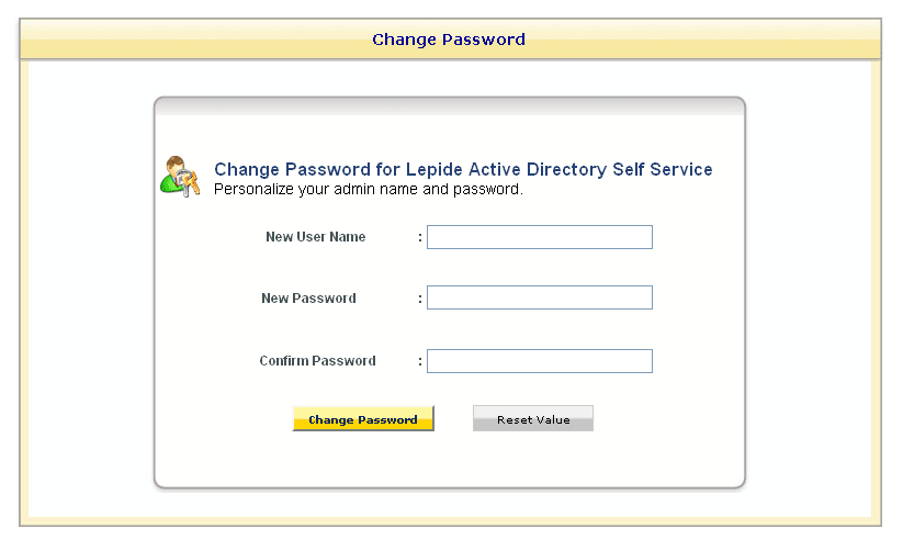 Figure 5.20: Change Password Page 3.