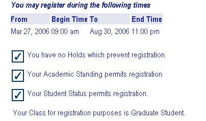 for registration purposes (which may