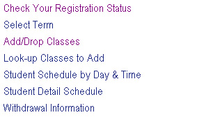 Registering for Classes This section will help you through the registration