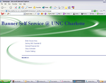 4 UNC Charlotte ID Tips: 4Protect your UNC Charlotte ID as you would your driver s license number. 4Do not use the UNC Charlotte ID as a password.