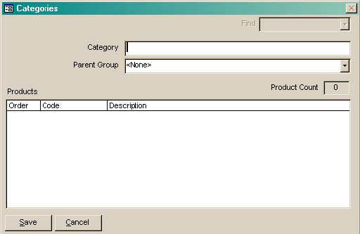 SUPPLY CHAIN MANAGER USER S MANUAL Addig Categories To add categories, click Add. A blak Categories form (Figure 5.5) is displayed. The follow these directios: 1.