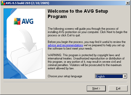 3. AVG Installation Process To install AVG on your computer, you need to get the latest installation file.