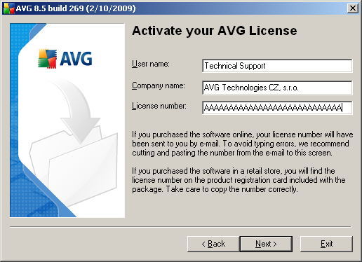 that installs AVG in fully automatic mode with settings predefined by the program vendor. This configuration provides maximum security combined with the optimal use of resources.