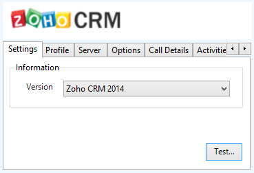 ZohoCRM Call Recording If integrating with a call recorder then this can contain a URL link to the call recording (this is not a clickable hyperlink but can be copied and pasted into a browser).