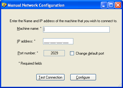 Networking This tab has many of the same features as the Netconfig utility had in prior versions of PFX Engagement.