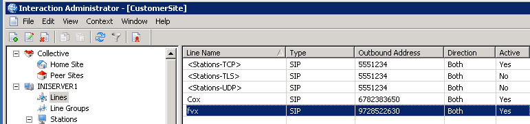 3.1.5 Proxy You need to enter the LAN IP address of your esbc and its UDP port. In this example IP is 10.70.72.