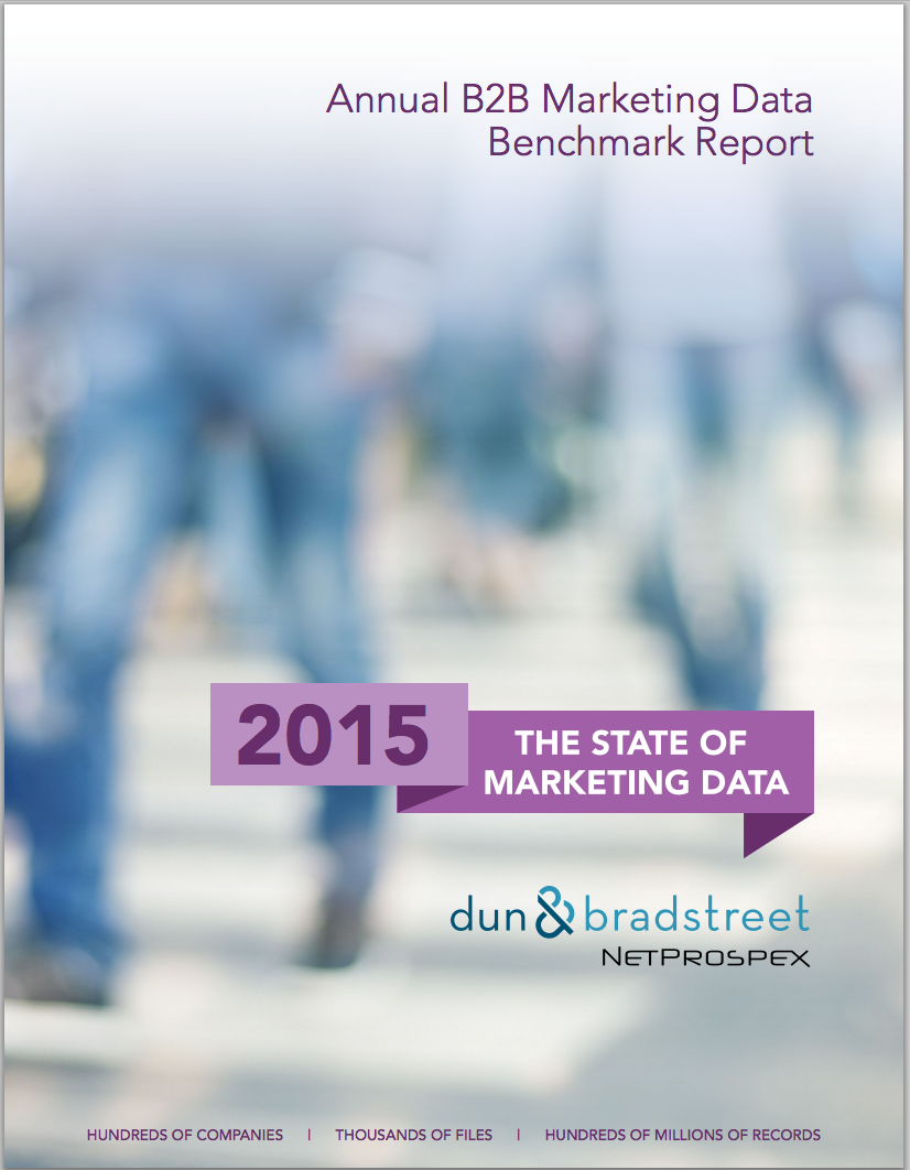 WHAT DO 223 MILLION RECORDS HAVE IN COMMON? READ OUR ANNUAL B2B BENCHMARK REPORT TO FIND OUT.