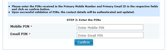 Step 5: In order to change the Contact details Click on Contact Details tab and click on Edit button. The user can edit the details and click on the Save button.