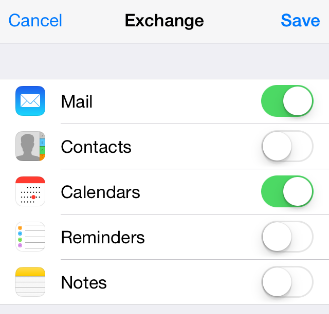 A. iphone/ipad (ios 7.1.2) To Setup PolyU Connect Email The following illustrations are based on iphone 5 running ios 7.1.2. 1. Select Settings 2. Select Mail, Contacts, Calendars 3.