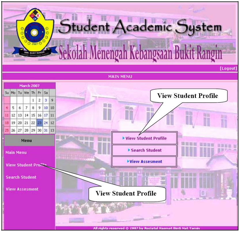 Electronic Student Academic System (E-SAS) For Secondary School 213 The sequence diagrams for E-SAS are shown in Fig 2 and Fig 3 respectively.