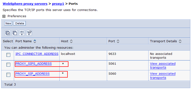 Configuring ports on the DMZ Secure Proxy Server Configure the SIP ports on the DMZ Secure Proxy Server.