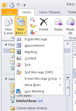 H. Make an Appointment with Online Meeting Content The Online Meeting Add-in for Microsoft Outlook is installed automatically when Microsoft Lync 2013 was installed.