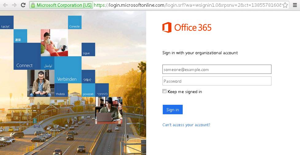 (Option2) Click Sign in if you are an Office 365