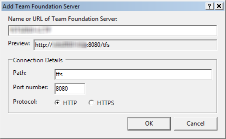 Page 108 of 243 The Add Team Foundation Server dialog should be visible.