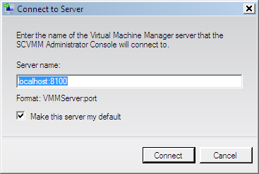 Page 171 of 243 Connect to the VMM Administrator Console