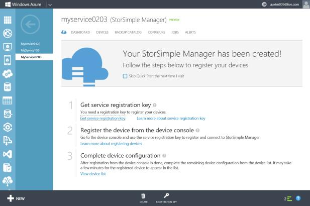 StorSimple Snapshot Manager The