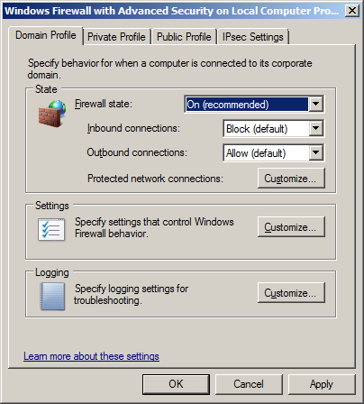 When connecting to a SQL Server on a remote machine ensure that remote TCP connections or Named Pipes are enabled for the SQL Instance using the SQL Server Configuration Manager.