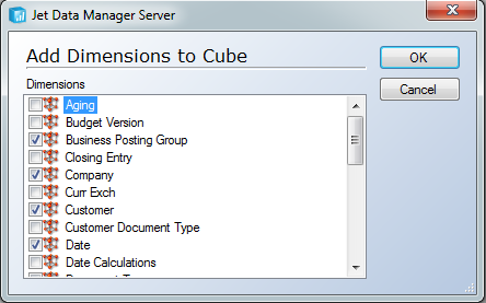 Creating Cubes 141 7. In the Log File Name field, type a name for the log, and then click OK.