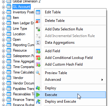 Deploying and Executing Projects 41 3. In the Deploy Steps dialog, click Start to deploy the project. 4. If there are any errors during deployment, click View Log to see which elements in the project that were not successfully deployed.