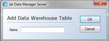 Data Warehouses 57 4. In the Database field, select an existing database, or type the name of a new database, and then click Create. 5. If your SSIS Server is installed under a different name than the database, enter the name in the SSIS Server Name field.