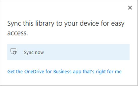Caching OneDrive for Business locally, and making files available offline You can also configure your machine to automatically synchronize your One Drive for Business/Office 365 file store to your