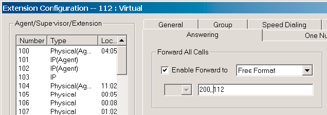 2. Create a virtual extension for every Fax number. Enter the proper DID/DNIS number in the DID number field. 3. Configure a virtual extension to forward a fax call to the FaxFinder unit.