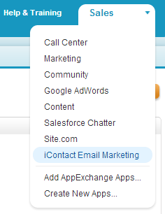 10. You should now see the icontact for Salesforce package listed 11.
